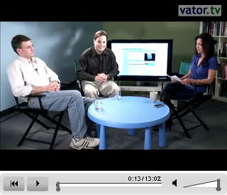 Ezra Roizen, Paul Martino, Bambi Francisco discuss NewsFutures on Vator.tv